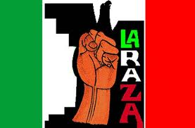 illegal immigration La Raza logo