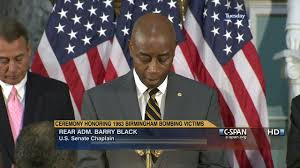 Senate Chaplain Barry Black