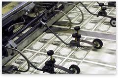 money printing dollar bills