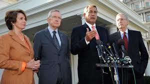 Boehner, Reid, McConnell and Pelosi 1