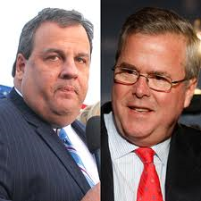 Jeb Bush and Chris Christie 3