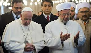 Pope Francis and Imam of Blue Mosque