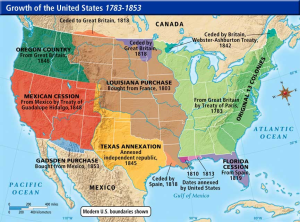 land acquisitions of the United States