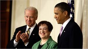 Elena Kagan and Barack Obama 4