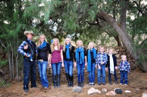 Ryan Bundy family