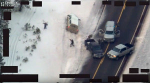 lavoy truck roadblock