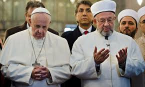 Pope Francis with Grand Mufti