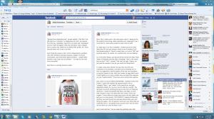 Tom Harrisoon aka Kelly Richardson on Facebook  - Click to enlarge