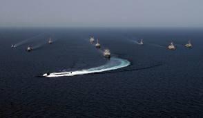 American Navy off Syrian coast