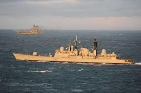American Navy off Syrian coastal waters 1