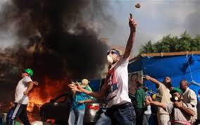 Egyptian Muslim Brotherhood protests 1