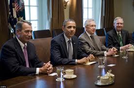 Boehner, Reid, McConnell and Obama