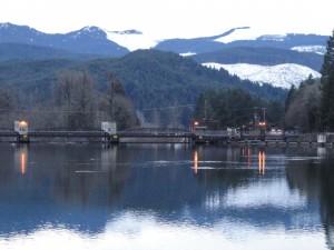 Leaburg Lake on the McKenzie River