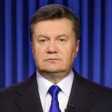 Ousted Ukranian President Viktor Yanukovych