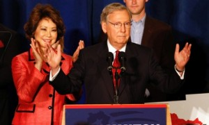 Mitch McConnell victorious in 2014 primary 2