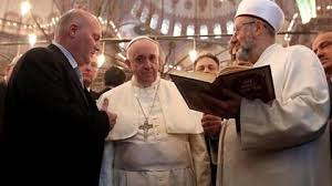 Pope Francis with Imam 2