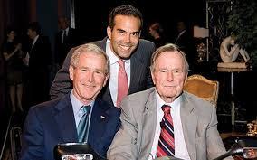 Three George Bushes
