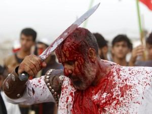 MUSLIM ASHURA FESTIVAL SHIA IRAQ