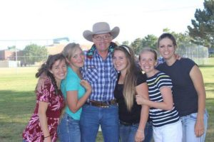 Lavoy Finicum with five of his daughters